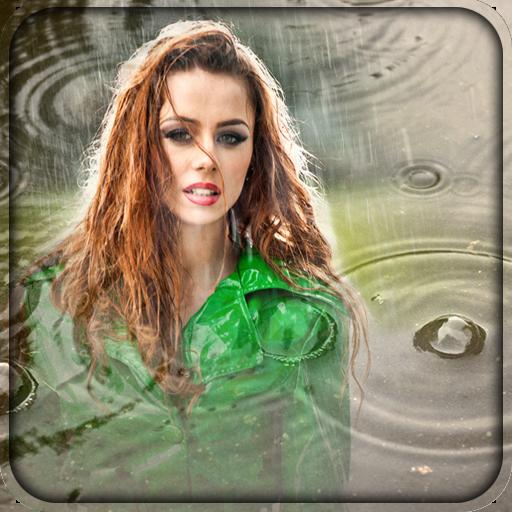 Regen Bilderrahmen (Collage-foto-decken)