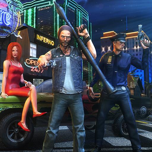 Criminal Mind In Vegas Stadt Ganglands Harte Zeit Shooter Survival 3D: Miami Autodiebstahl Gangster Töten Verbrechen City Simulator Mission Abenteuer Spiele Kostenlos Für Kinder 2018