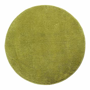 Homescapes Green Round Cotton Tufted Rug 70 Cm Circular Children Room  Nursery Or Interior Rugs: Amazon.co.uk: Kitchen U0026 Home