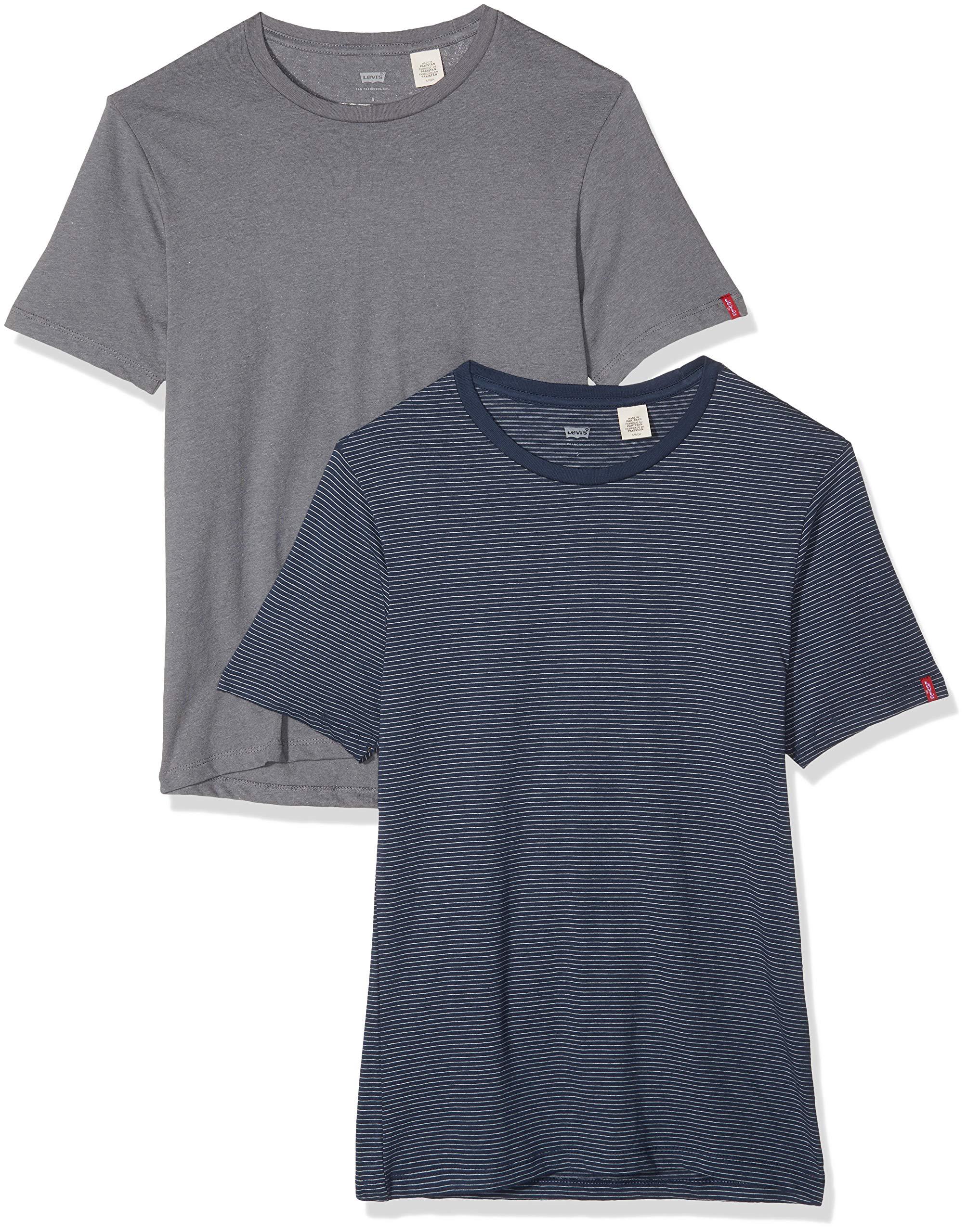 Levi's  2 Pack Crew – Camiseta para Hombre