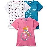 Gubbarey Girl's Regular fit T-Shirt