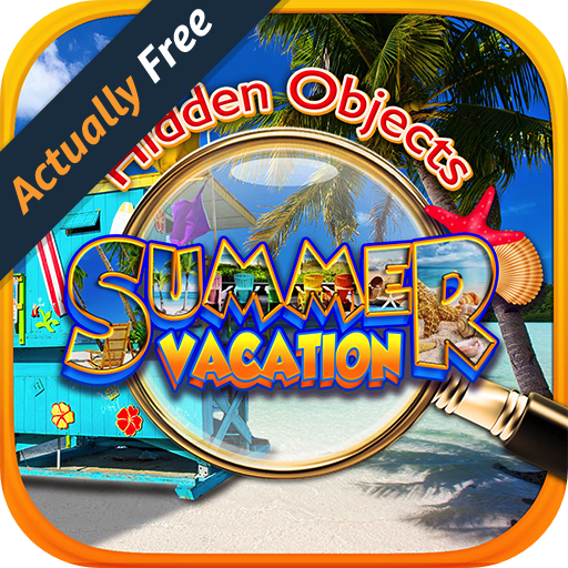 Hidden Objects Summer Beach Vacation - Hawaii, California, Florida, Italy, Caribbean, Mexico & Travel Puzzle Pic Find Photo Spot the Difference Object