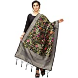 Jenny Designer Women's Printed Banarasi Silk Dupatta