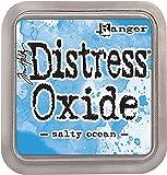 Ranger Tim Holtz Distress Oxide Pad-Salty Ocean, Synthetic Material, Blue, 7.5 x 7.5 x 1.9 cm