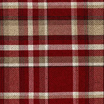 New Quality Woven Tartan Striped Checked Pattern White Yellow Upholstery Fabric