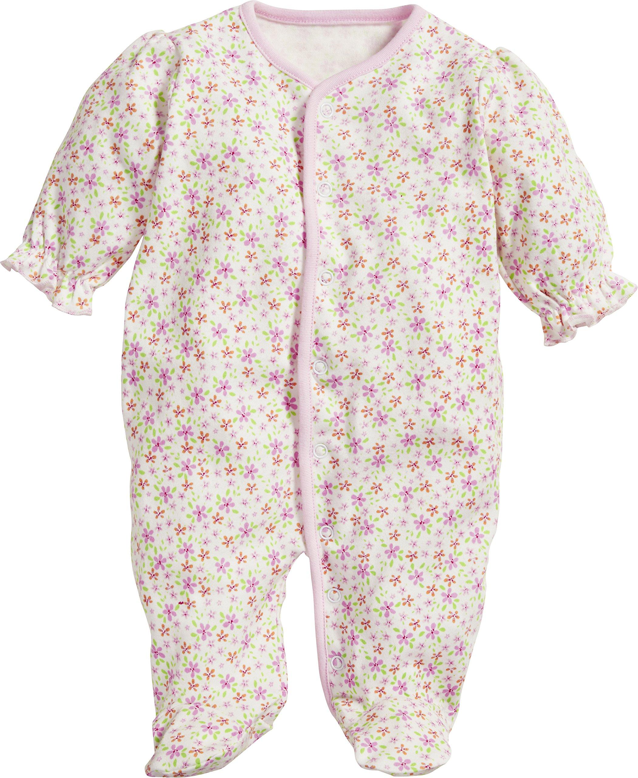 Schnizler Schlafoverall Interlock Blumen Pijama para Bebés 1