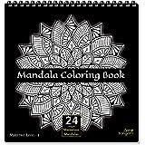 Zen Sangam - Mandala Young Adults Coloring Book - Expert Maestros (Level 1) - Young Adults - 24 Unique Designs
