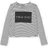IKKS Junior tee Shirt Ml Mariniere I'm A Lover Camiseta para Niñas