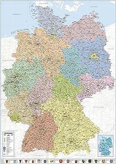 große deutschlandkarte kaufen Landkarten Giant XXL Poster   Deutschlandkarte   Bildungsposter 1