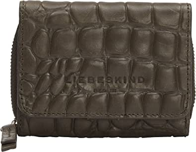 Liebeskind Berlin Damen 899-Pablita20-Croco-black Reisezubehör-Brieftasche