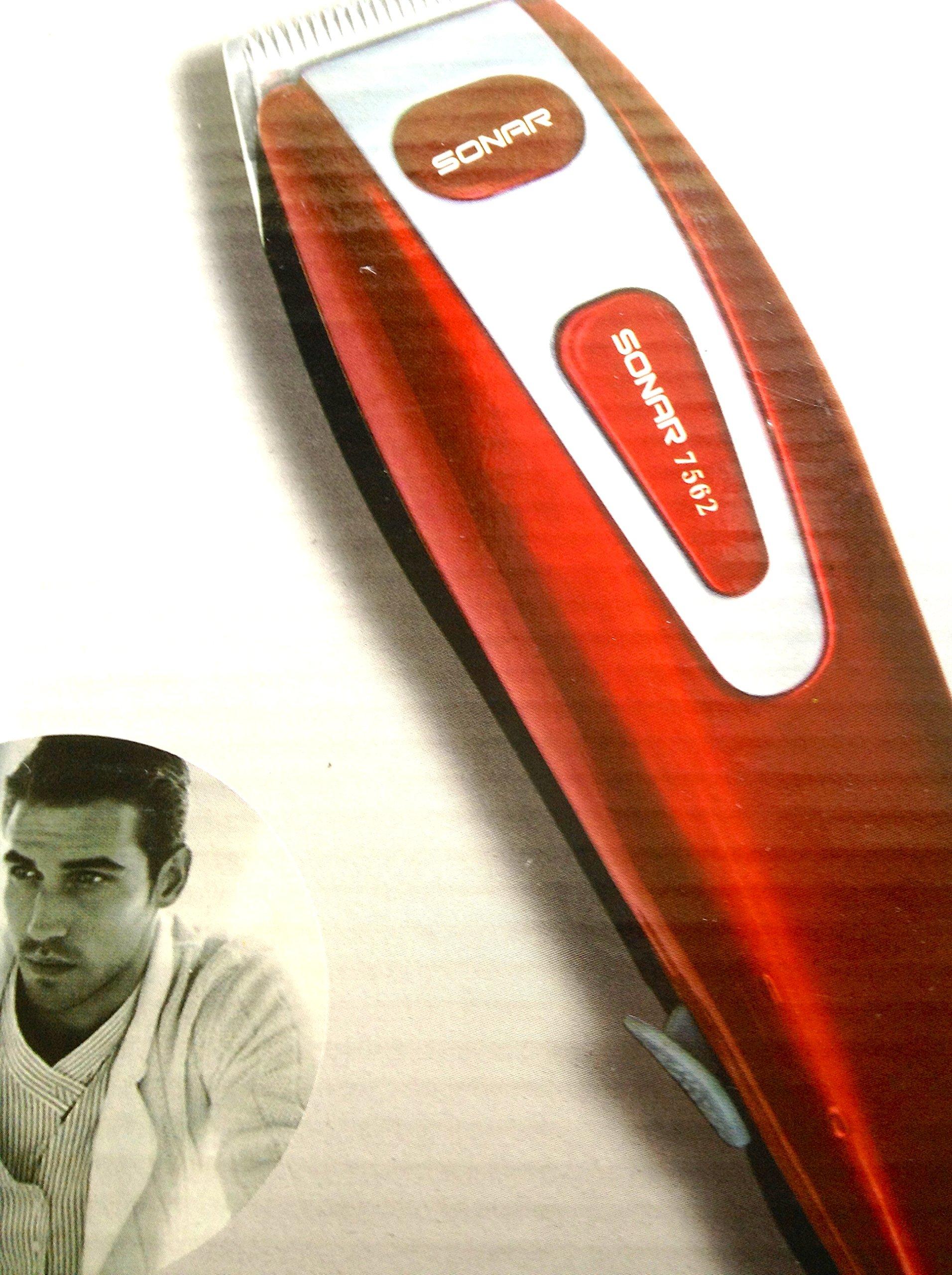 Tagliacapelli Regolacapelli Sonar PROFESSIONAL HAIR CLIPPER BEARD & body TRIMMER - Ideale per Parucc
