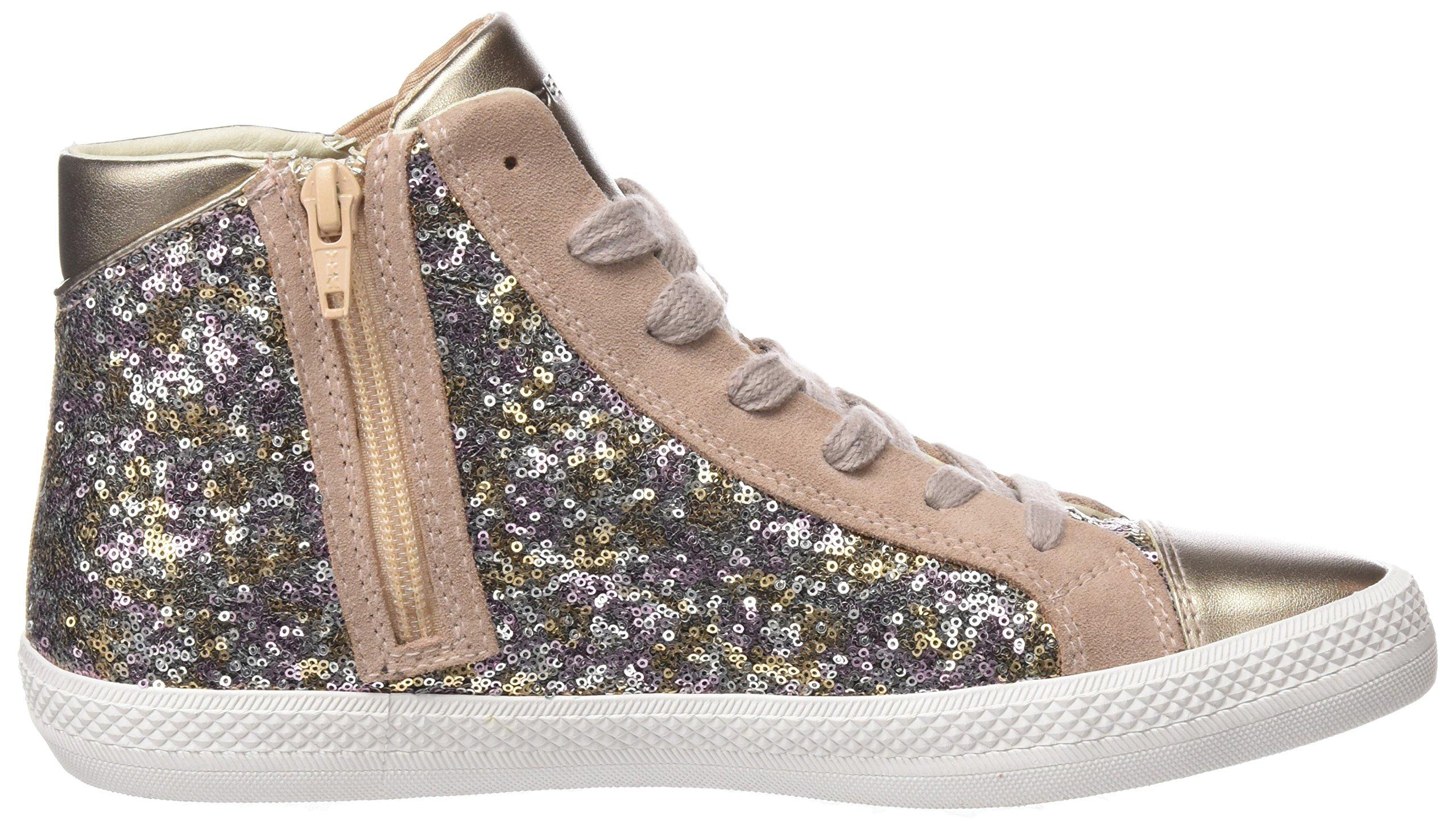 Geox Damen D Giyo A Hohe Sneaker 6