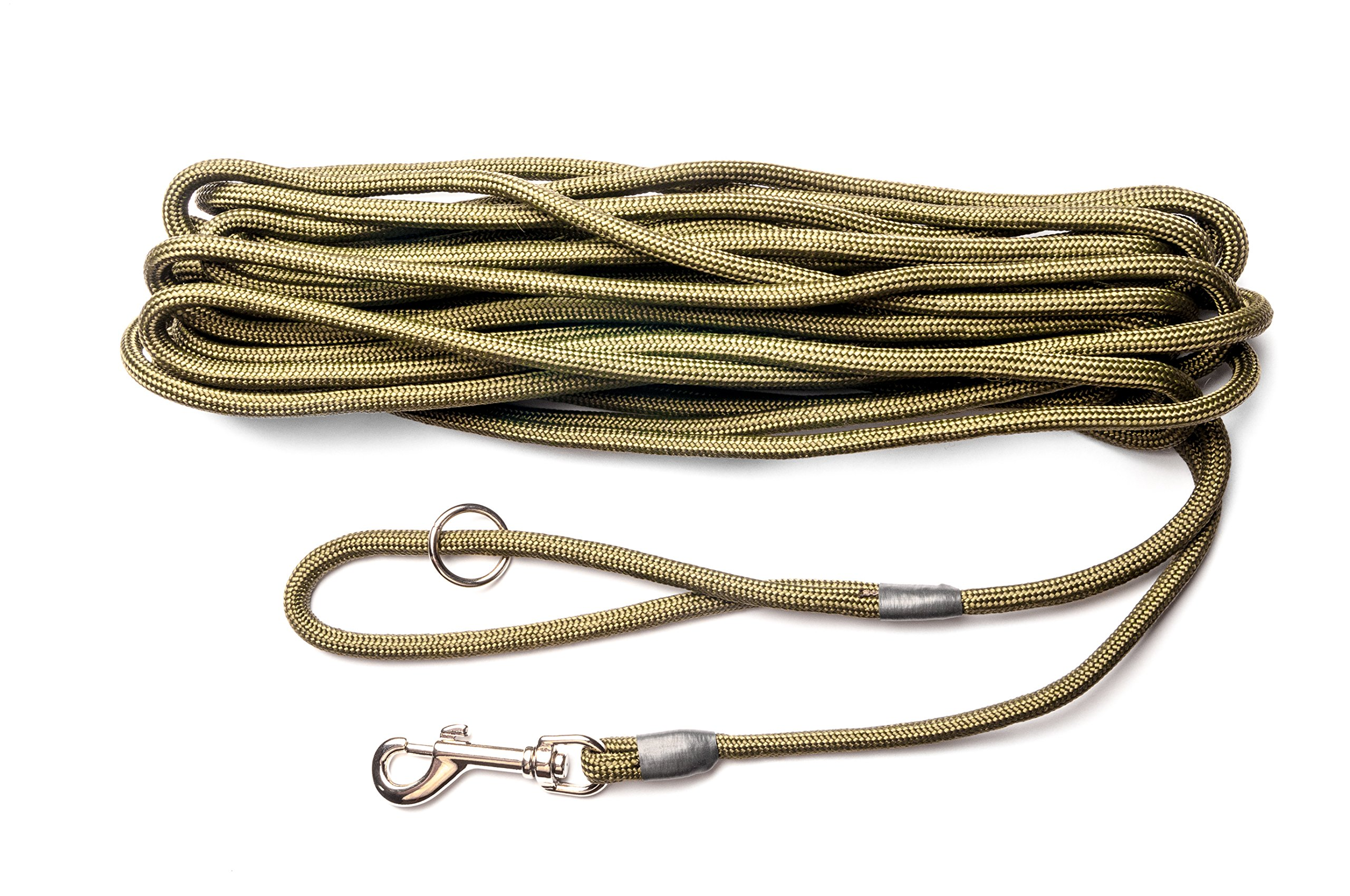Dog & Field 2in1 10 Meter Training/Exercise Dog Lead – Super Soft Braided Nylon