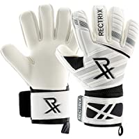 Rectrix 1.0 Goalkeeper Gloves (With Free Zip Case) - Negative Cut - Youth & Adult Sizes