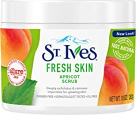 St. Ives Fresh Skin Invigorating Apricot Scrub, 10 Oz