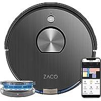 ZACO A10 Saugroboter mit Wischfunktion (Neuheit 2021), 360° Laser-Navigation, Alexa & Google Home Steuerung, Mapping, No…