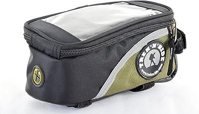 Trek 'N' Ride 201701 Polyester Top Tube Bag (Green)