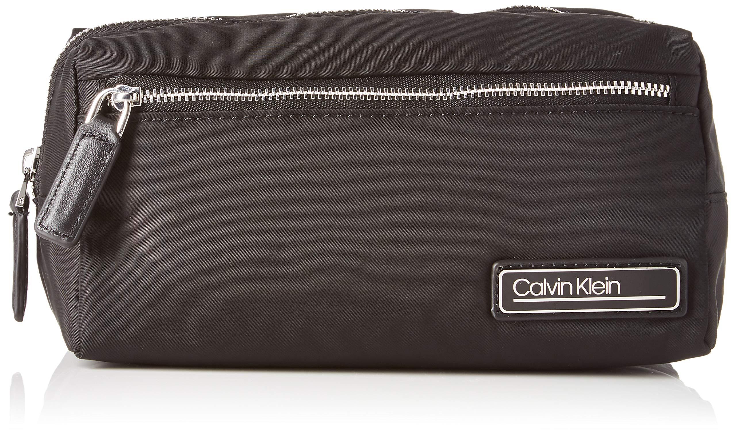 Calvin Klein PRIMARY COSMETIC BAGMujerBolsos bandoleraNegro (Black) 11.5x13x24 centimeters (B x H x T)