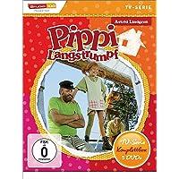 Astrid Lindgren: Pippi Langstrumpf - TV-Serie Komplettbox [5 DVDs, Digital restauriert]