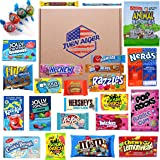 12 Selected Items American Sweets - American Candy Hamper Box - American Chocolate Hamper - USA Variety Candy Pack - Mystery