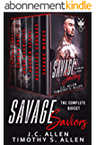 Savage Saviors: The Complete Boxset (Savage Saviors MC) (English Edition)
