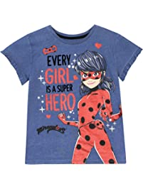 Miraculous Camiseta para niñas Ladybug