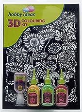 Pidilite 3D Colouring Kit - Floral (Sunflower)