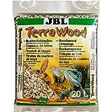 JBL Bokträspån TerraWood 71016 jord för torra och halvtorra terrarier, 5 l