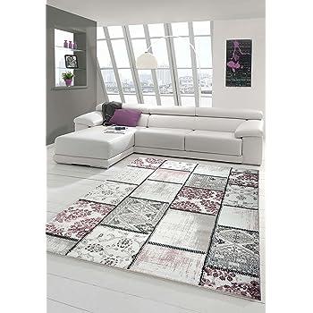 Edler Designer Teppich Moderner Teppich Wohnzimmer Teppich Patchwork