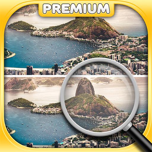 Finde den Unterschied - Städte - Logikspiele ()
