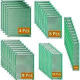 DEYUE 40 PCB 5 maten universele ongetraced geperforeerde bedrukte circuitboards   solderable Circuit protoboards