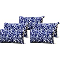 Gowri Tex Recron Certified Gowri Tex Soft Pillow (17.5inch x 27.5inch) Big Size Pillow Set of 5