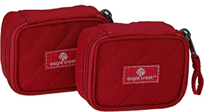 Eagle Creek Pack-It Original Quiltd Mini Cube Xs-2pc St, Red Fire