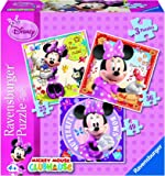 Ravensburger Minnie Mouse 3 Puzzle in Einer Box