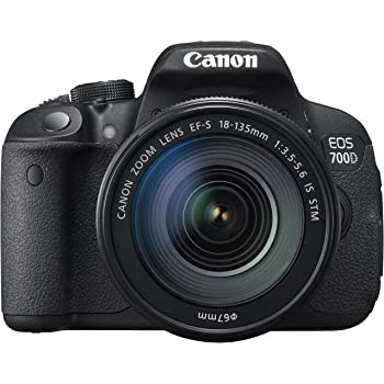 "Canon EOS 700D - Cámara réflex digital de 18.0 Mp (pantalla de 3.0"", objetivo(s) 18.0-135.0mm f/216, estabilizador de imagen [Importado]"