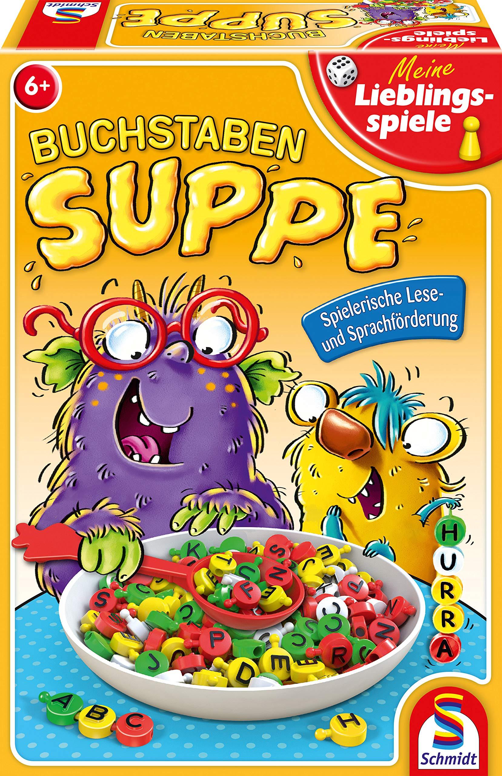 Schmidt-Spiele-40533-Buchstabensuppe-Kinderspiel-bunt Schmidt Spiele 40533 Buchstabensuppe, Kinderspiel, bunt -