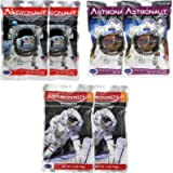 Astronaut Freeze Dried Ice Cream & Fruit Pack - Neapolitan Ice Cream Sandwich, Vanilla Ice Cream Sandwich & Stawberries…