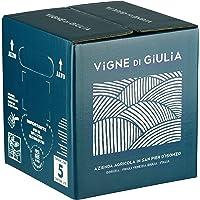 Bag in Box vino Pinot Grigio DOC Friuli Venezia Giulia 13% - Vigne di Giulia - confezione 5 L