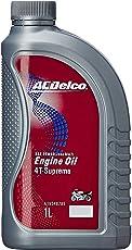 ACDelco A19348785 20W-40 API SL (Jaso MA2) 4-T Supreme Red Engine Oil (1 L)