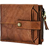 Spiffy® RFID Protected Men's Genuine Leather Wallet for Men Purse