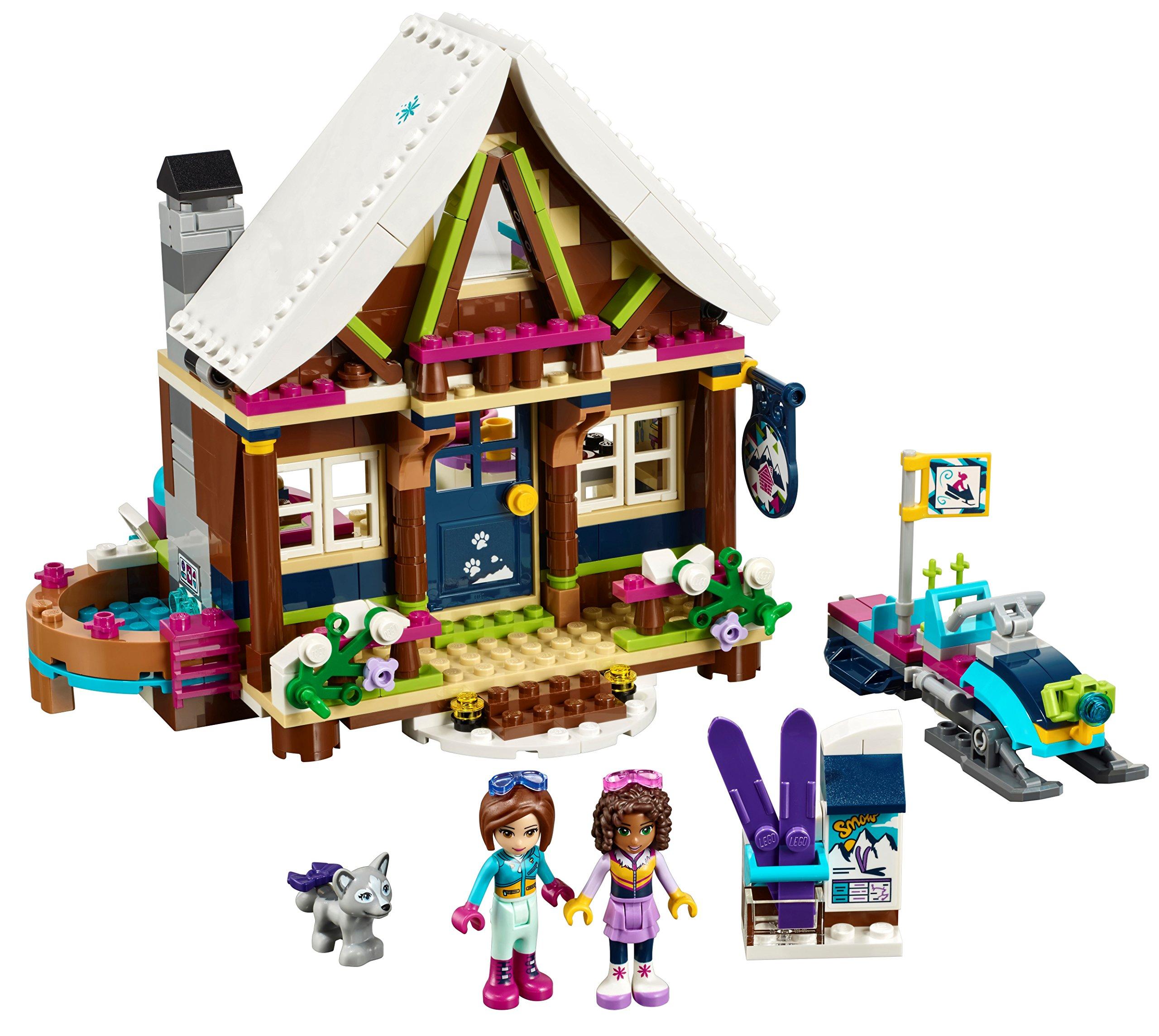 LEGO- Friends Lo Chalet del Villaggio Invernale, Multicolore, 41323 3 spesavip