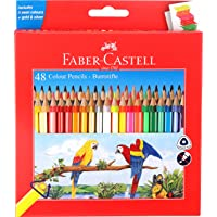 Faber-Castell 48 Triangular Colour Pencils