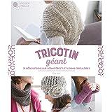 Tricotin géant : 25 réalisations sur looms droits et looms circulaires