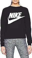 Nike 943791, Felpa Con Cappuccio Donna