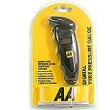 AA Digital Tyre Pressure Gauge AA1634 - Easy to Use on Cars Motorbikes Vans Bicycles - Backlit LCD Screen - 0-100 PSI/0…