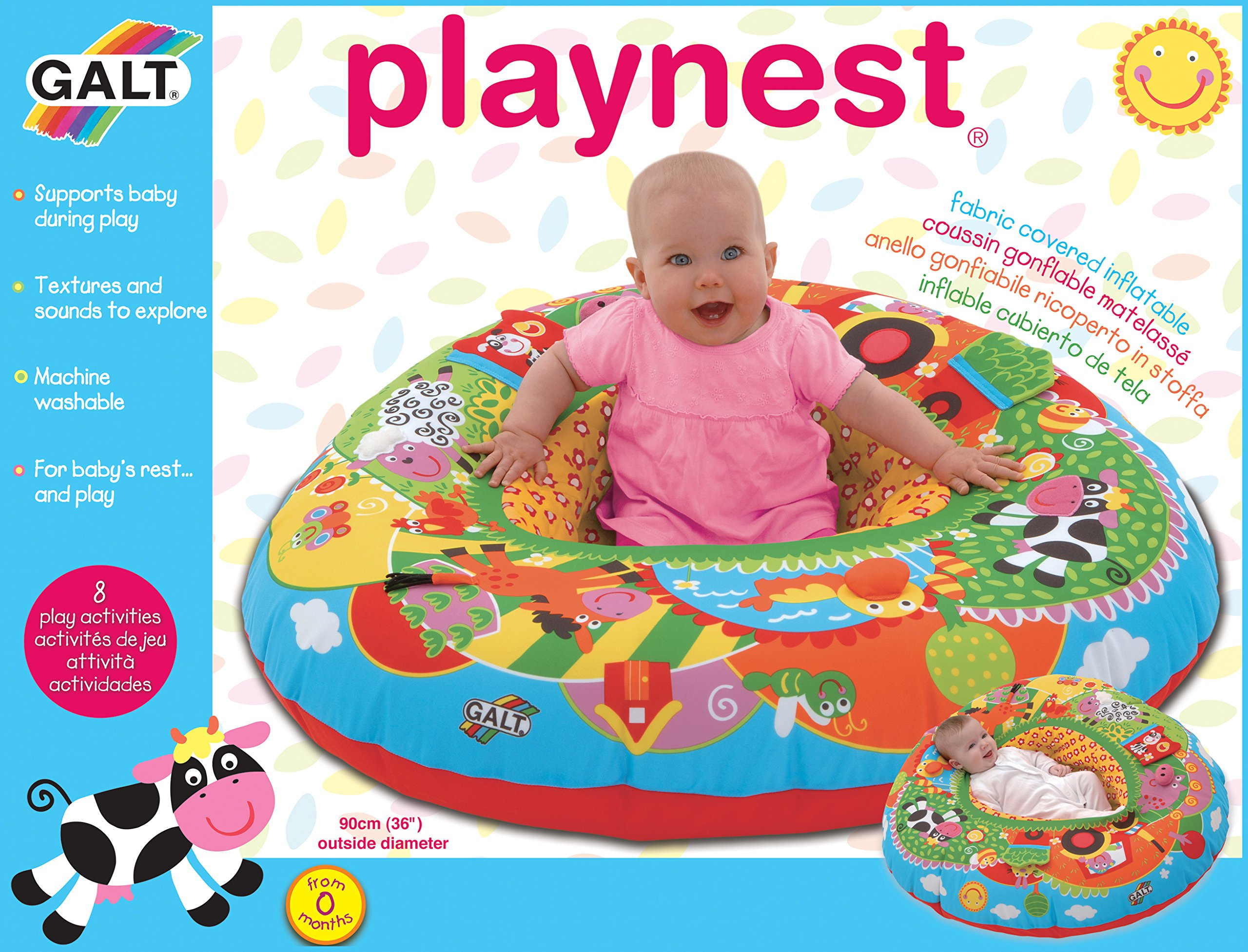 Galt Toys Farm Playnest 2