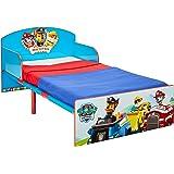 Paw Patrol Säng för småbarn, trä, blå, 143 x 77 x 42,5 cm