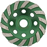 PRODIAMANT Premium diamant slipkopp hjul betong 125 mm 5 tum x 8,2 mm diamant slipskål standard för betong, murverk, sten dia