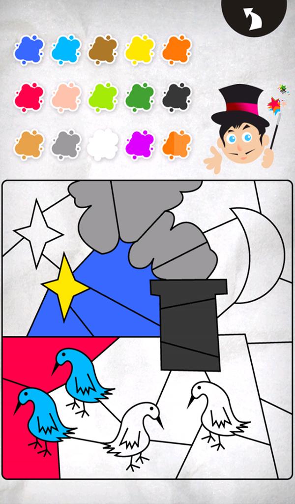 coloriage magique un jeu de dessin pour les enfants appstore pour android. Black Bedroom Furniture Sets. Home Design Ideas