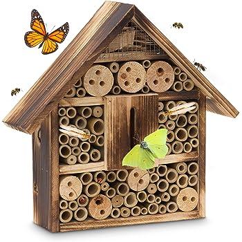 Reinigung & Wartung Insektenhotel Zum Aufhängen Mit Hochwertigen Kaufe Jetzt Ordentlich Ingardo Insektenhaus Aus Holz Haustierbedarf